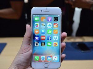 Küçük bir kıza ait olan Apple iPhone 6 patladı.