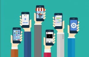 Cep telefonlarının teknolojik ilerlemesi.