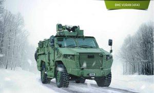 BMC tarafından üretilen yeni zırhlı araç vuran TSK bünyesine katıldı.
